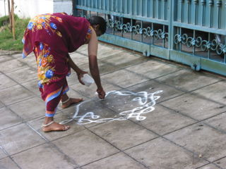 Kolams and Pongal 2008 030
