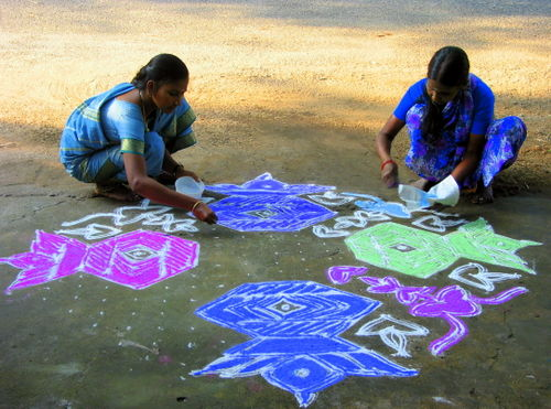 Kolams and Pongal 2008 174