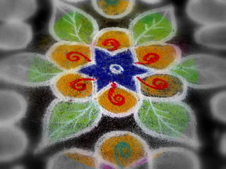 Kolams and Pongal 2008 044