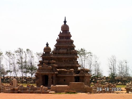 The Shore Temple Mammallapuram Aug 05