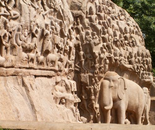 Arjuna's Penance MPuram Aug 05
