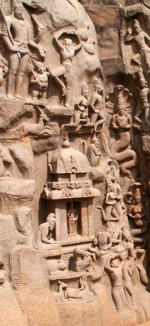 Arjuna's Penance - Mpuram Aug 05