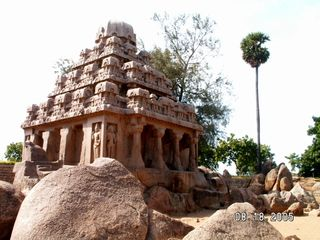 Rathas at Mpuram Aug 05