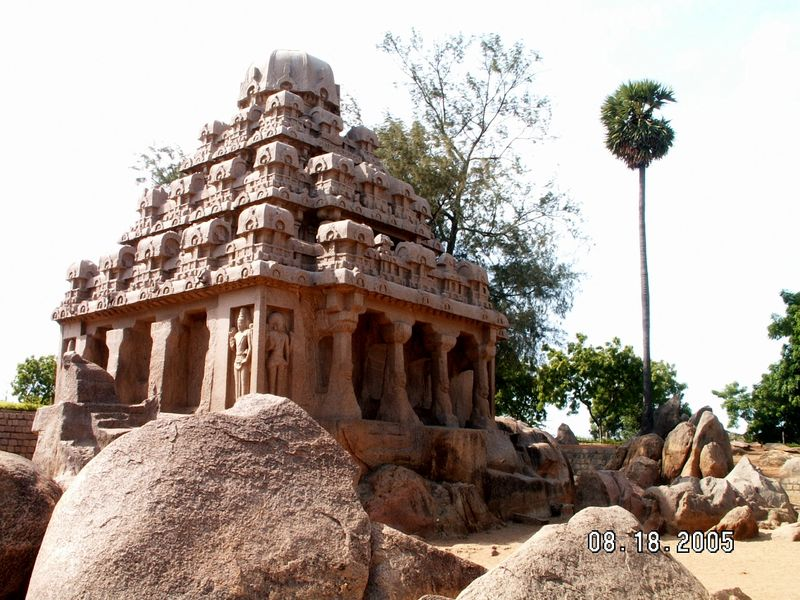 Rathas at Mpuram Aug 05