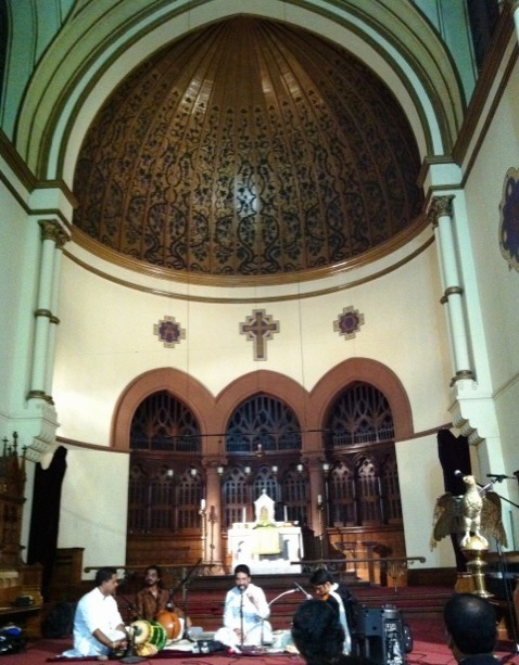 The Hinduisation of music in the Catholic Church – ragas and