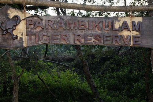 Parambikulam sign